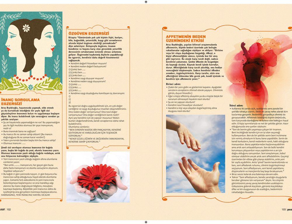 Pozitif Dergisi- Mutluluk Egzersizi (devam)